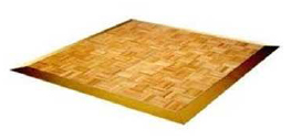 Timber dance floor